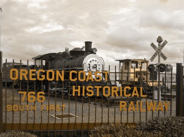 coastal railroad, oregon
