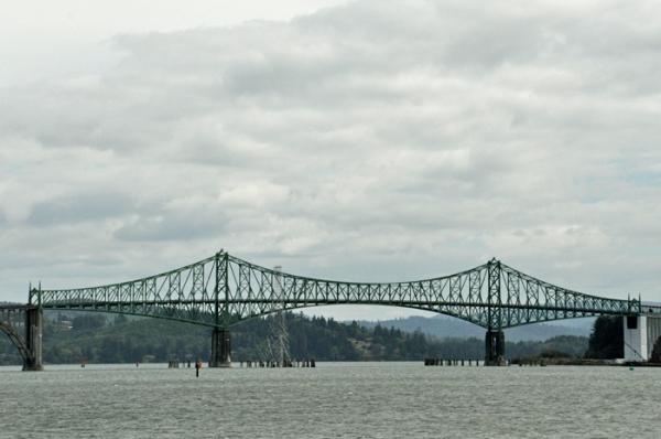 bridge over water © lynne medsker