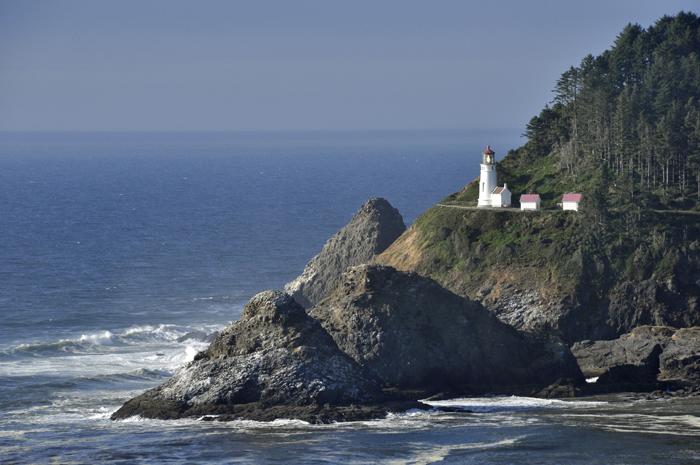 ligthouse on the cliff © lynne medsker