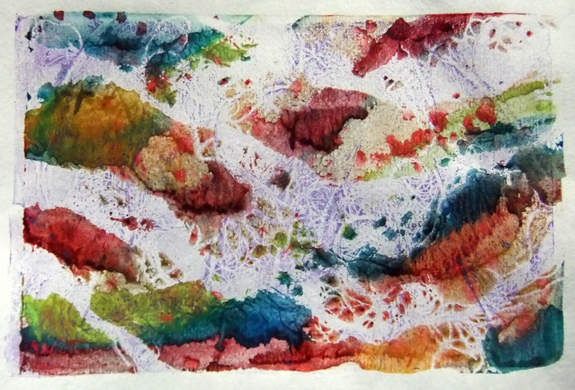 printmaking sample © lynne medsker