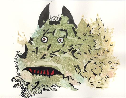 monster 8 © lynne medsker