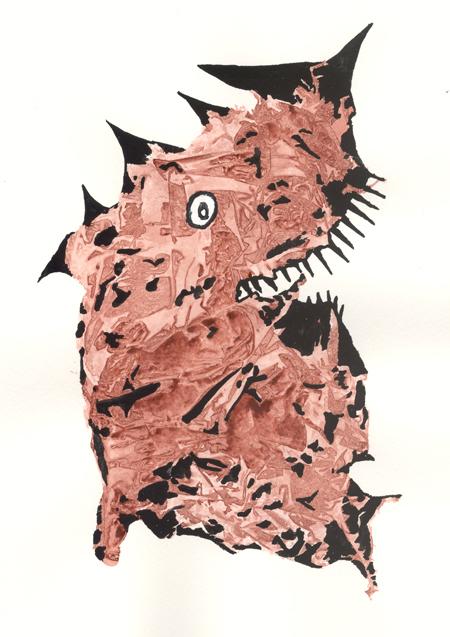 monster #10 © lynne medsker