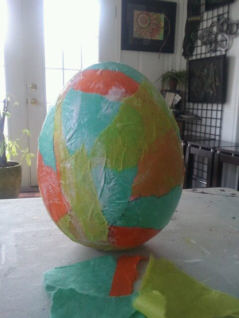 phase one, egg decoration