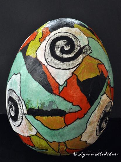 final phase, finished egg