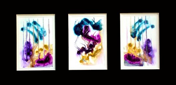 sample yupo art © lynne medsker