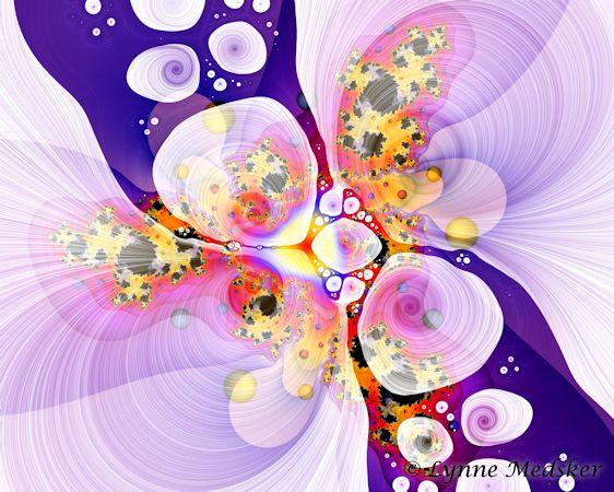 blended fractal art #42 © lynne medsker