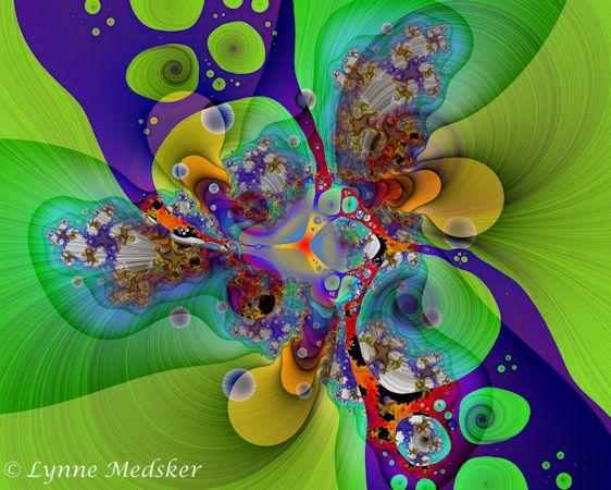 blended fractal #43 © lynne medsker