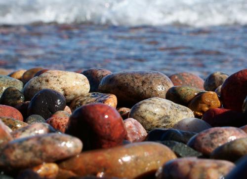 lake superior stones © lynne medsker