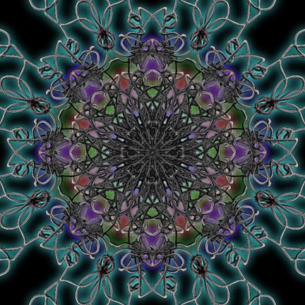 phone Kaleidoscope #3, digital art  © lynne medsker