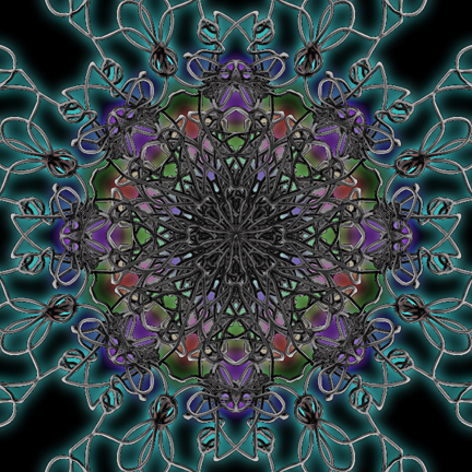 phone Kaleidoscope #3, digital art  © lynne medsker