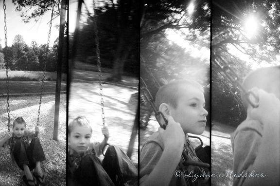 swinging © lynne medsker