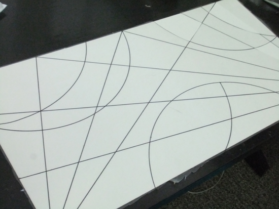 design on contact paper