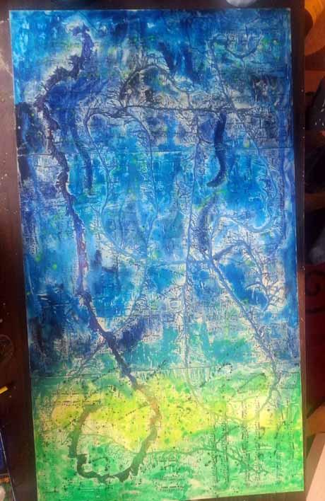 Work in progress, Fruition (c) Lynne Medsker