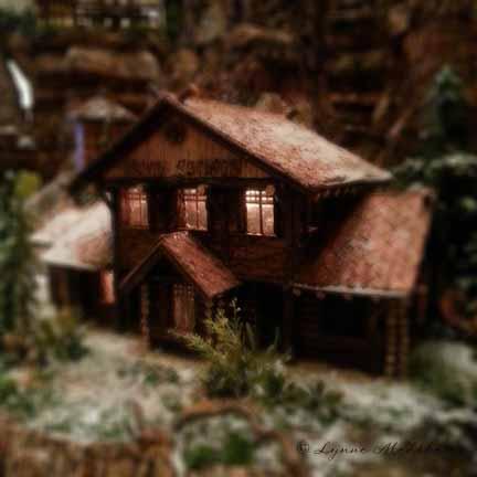 """""""Jingle rails"""" image, 2012, Lynne Medsker"""
