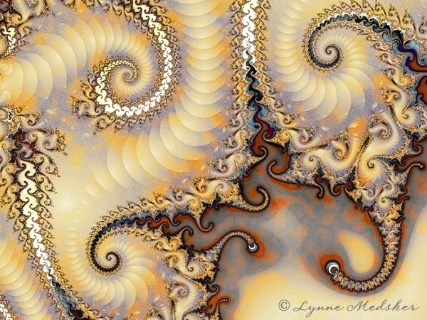 """Fractal #71"" 2012 Digital/Fractal Art © Lynne Medsker"