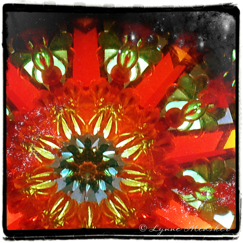 """Kaleidosocpe #18"" photo/digital art (c) Lynne Medsker"