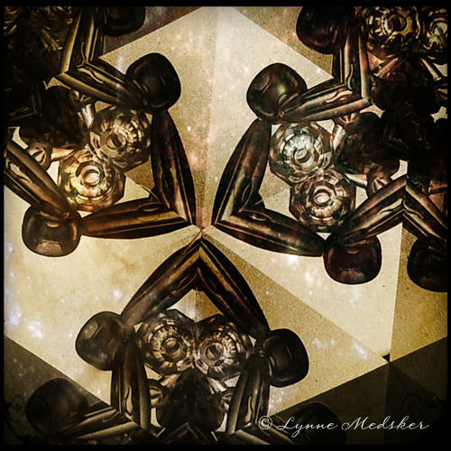 """""""Kaleidosocpe #19"""" photo/digital art (c) Lynne Medsker"""