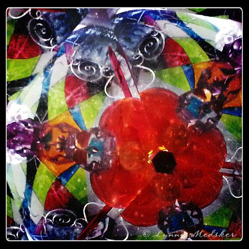 """""""Kaleidosocpe #20"""" photo/digital art (c) Lynne Medsker"""