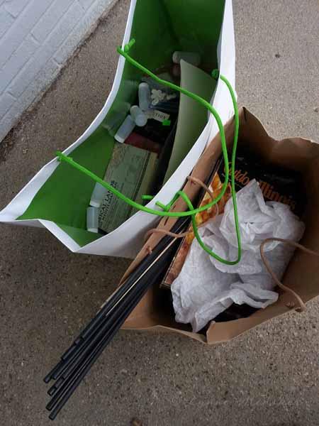 bags full o' goodies