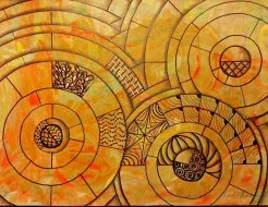 web, circular drawing wip03