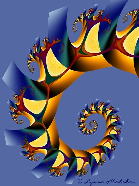 """""""Abiding"""" digital/fractal art © 2013, Lynne Medsker"""
