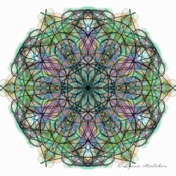 Kaleidoscope 2013-10, digital art © Lynne Medsker