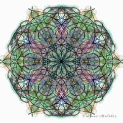 Kaleidoscope 2013-10, digital art © Lynne Medsker
