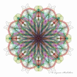Kaleidoscope 2013-13, digital art © Lynne Medsker
