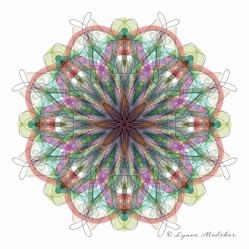 Kaleidoscope 2013-13, digital art © Lynne Medsker