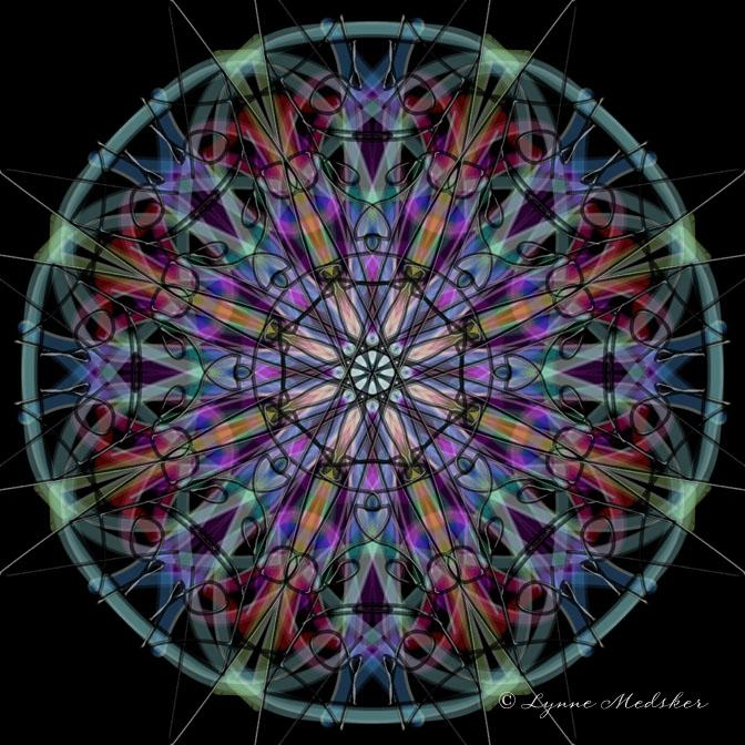 Kaleidoscope 2013-2, digital art © Lynne Medsker