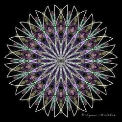 Kaleidoscope 2013-3, digital art © Lynne Medsker