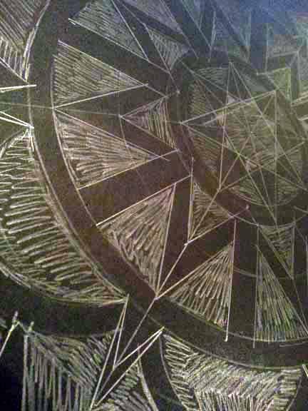 Design drawn in pencil