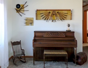 piano art installed