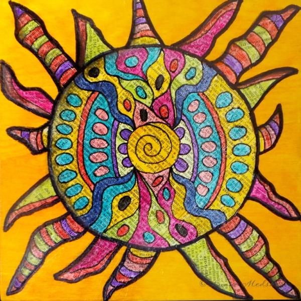 blog sunburst © Lynne Medsker