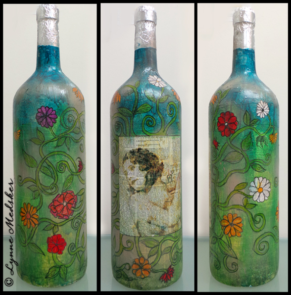 FB Wine Bottle 1, Art of Wine 2014