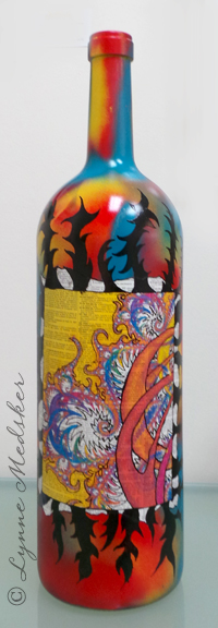FB Wine Bottle 2, Art of Wine 2014
