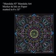 Stock, matted to 8x10 2009-07 Mandala3