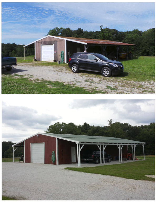 The big barn = what a transformation!