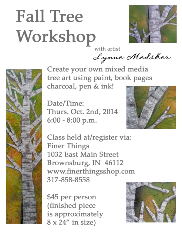 Fall Tree Workshop Flyer