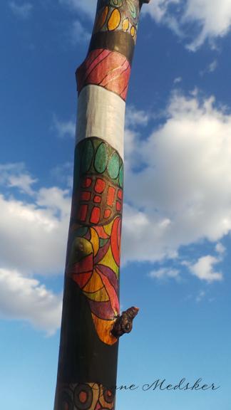 Totem, WIP, image 4 (c) Lynne Medsker