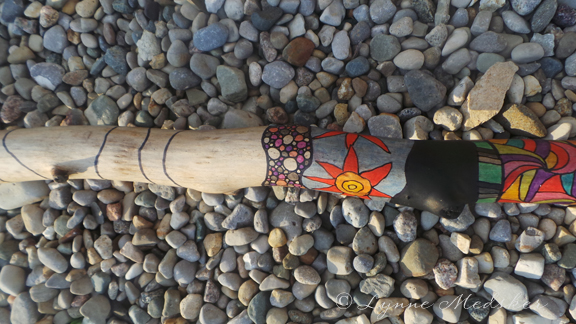 Totem, WIP, image 3 (c) Lynne Medsker