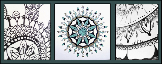 Class for TWO - Intro to Mandala Art $70 value