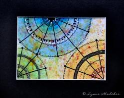 "Mandala #87, matted to fit in an 8x10"" frame, © Lynne Medsker Art & Photography, LLC"