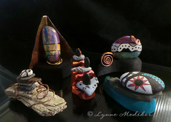 tiny sculptures (c) Lynne Medsker