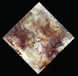 """Digital art printed on aluminum panel. """"Texture Art #5"""" 8x8"""" $95 value"""