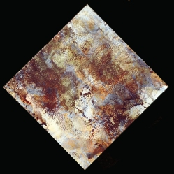 "Digital art printed on aluminum panel. ""Texture Art #5"" 8x8"" $95 value"