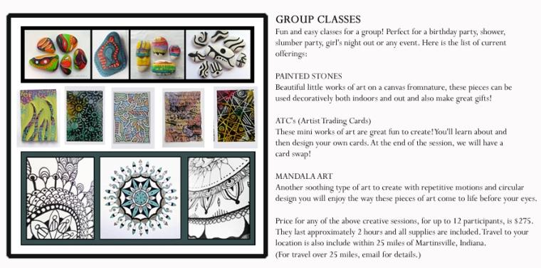 Group class for up to TWELVE, a $275 value! © Lynne Medsker