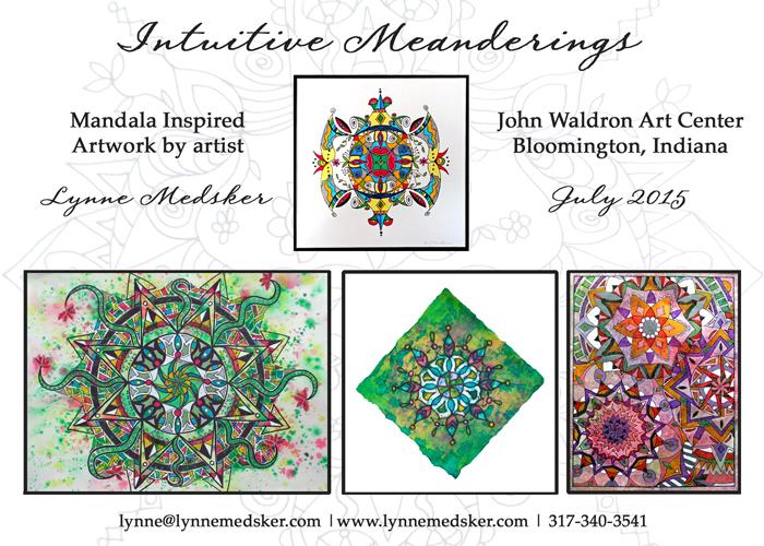 blog, Postcard, Intuitive Meanderings
